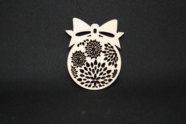Christbaumkufel-aus Ahornholz-Blumen