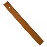Holzlineal-30cm-lang