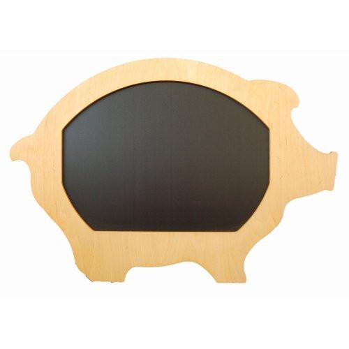 Kreidetafel-Schwein-Sperrholz