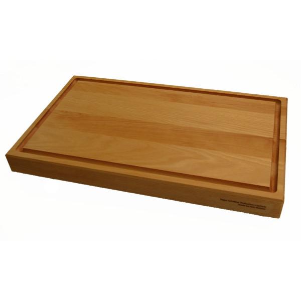 Holzschneidebrett-Buchenholz