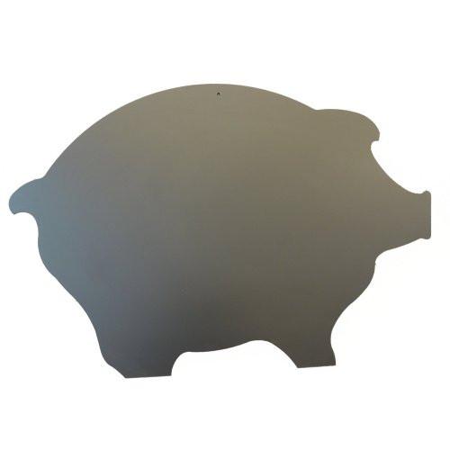 Kreidetafel-Schweinform