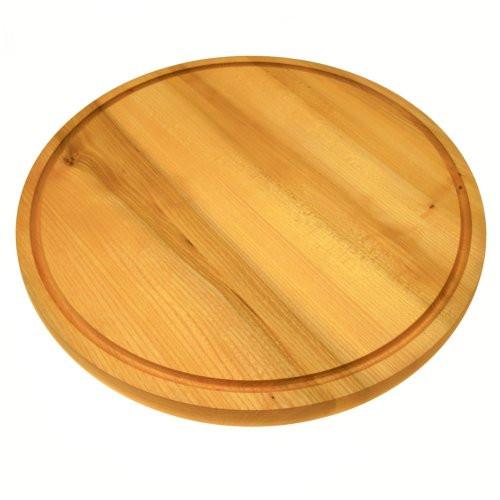 Schneidebrett-rund-Holz