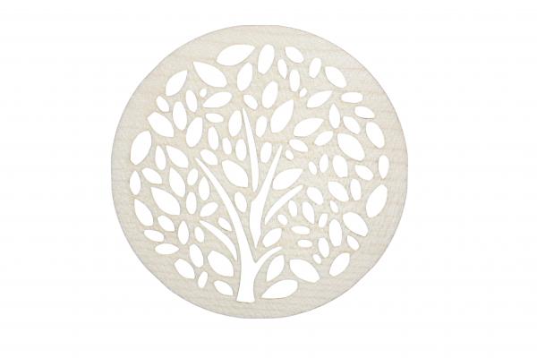 Untersetzer Taschentuchbaum aus Ahornholz