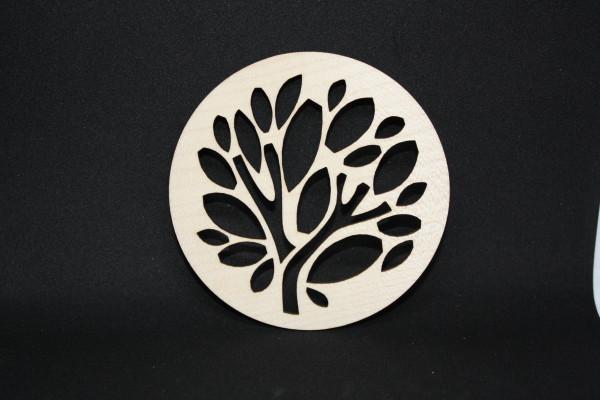 Untersetzer-Glasuntersetzer-Holzuntersetzer-Papageienbaum-Ahorn
