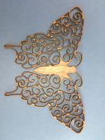 Untersetzer-Schmetterling