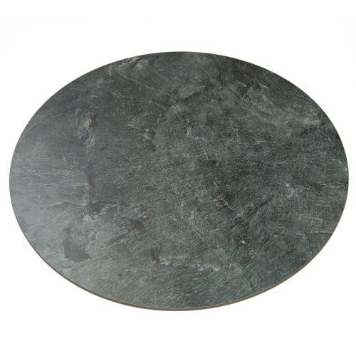 Drehplatte Kunstschiefer 50cm Durchmesser