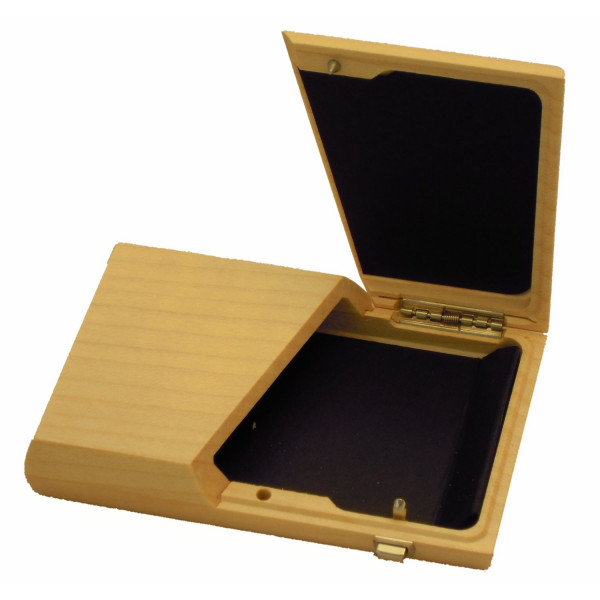 Visitenkartenbox-Holz-Visitenkartenetui