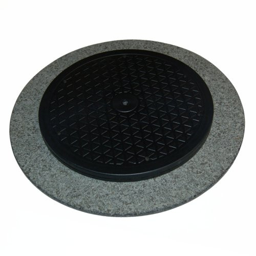 Drehplatte Granit dunkel 35cm