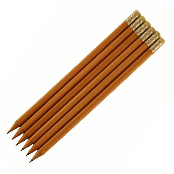 Bleistifte-Naturholz-sechskant