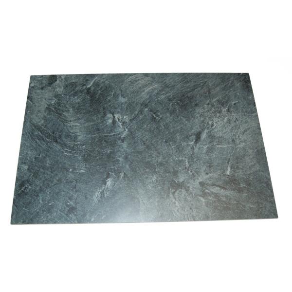 rechteckiges Schiefertablett aus Kunstschiefer 53*35.5cm