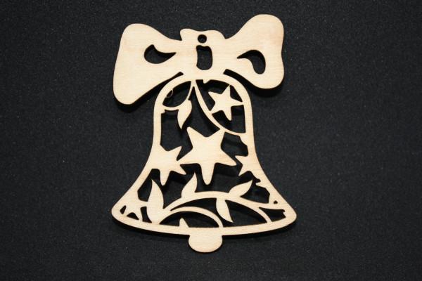 Baumschmuck-Christbaumschmuck-Glocke-mit-Sternen-Ahorn