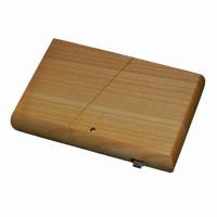 Visitenkartenbox-Visitenkartenetui-Holz