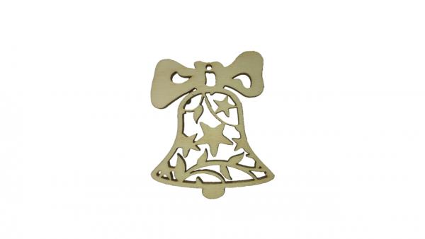 Baumschmuck Glocke mit Sternen