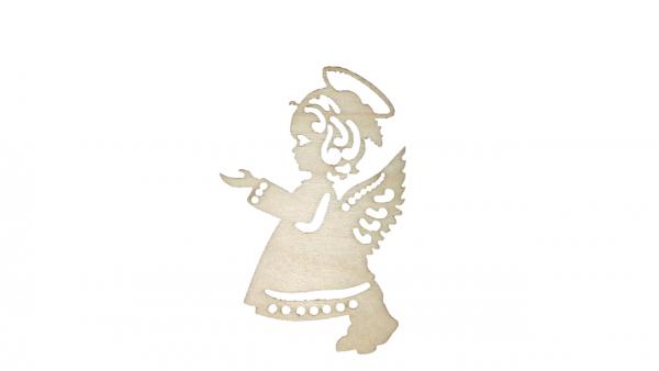 Baumschmuck Engel aus Ahornholz